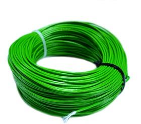 Провод монтажный МГШВ 0,12 мм кв. 50 м (зеленый)