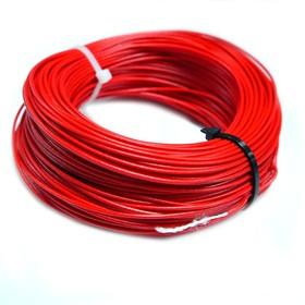 Провод монтажный МГШВ 0,35 мм кв. 50 м (красный)