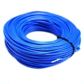 Провод монтажный МГШВ 0,75 мм кв. 50 м (синий)
