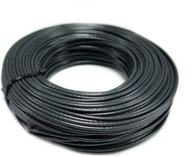 Провод монтажный МГШВ 0,75 мм кв. 50 м (черный)