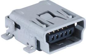 MC32598, MINI USB, 2.0 TYPE AB, RECEPTACLE, SMT