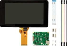 "RASPBERRYPI-DISPLAY, Дочерняя плата, экран сенсорного дисплея Raspberry Pi 7"", сенсор 10 пальцев"