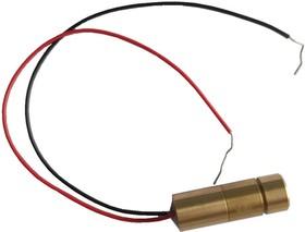 DSC6502-0926 (DSC6505-0921), Лазерный модуль d9x26mm (size with driver) 2mW, 650 nm, cross , 3-5V, brass