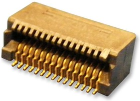 Фото 1/3 788862-1, Pluggable I/O Connector, XFP, 30 контакт(-ов), 1 x 1 (Single), Поверхностный Монтаж
