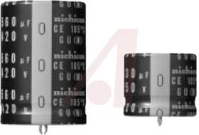 LGU2E151MELY, Cap Aluminum Lytic 150uF 250V 20% (20 X 25mm) Snap-In 10mm 790mA 3000h 105°C Bulk