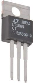 Фото 1/2 LT1084CT#PBF, Стабилизатор с малым падением напряжения, регулируемый, 2.6В до 30В (Vin), 1.3V, 25В/5А