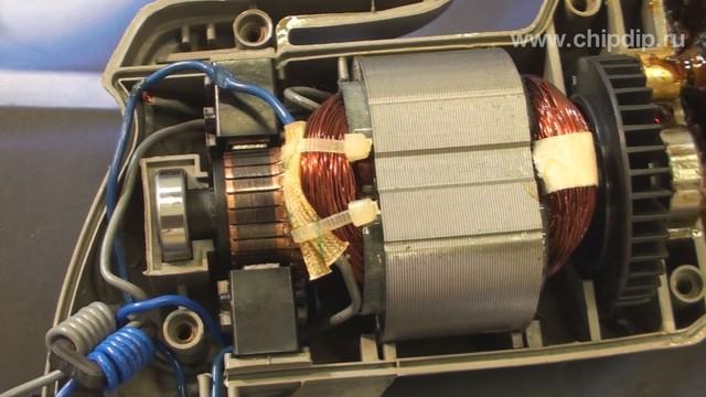 На данный момент альтернативами универсальному коллекторному двигателю являются бесколлекторные электродвигатели со...