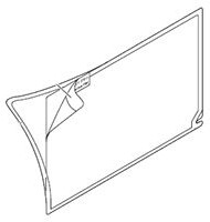 GT21-03PSCC-UC, CLEAR PROTECTIVE SHEETS FOR GT21 HMI
