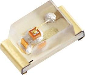 KPT-1608YC, LED Uni-Color Yellow 590nm 2-Pin Chip LED T/R
