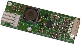 LEDV3, Драйвер светодиодной подсветки, 3A/40В выход, регулировка яркости, 2В-16В питание, платы ЖК-дисплеев