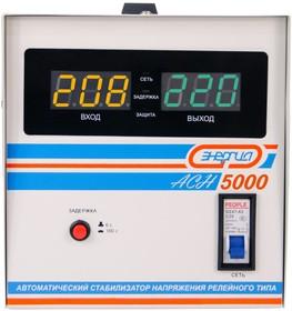Фото 1/9 Cтабилизатор напряжения Энергия АСН 5000