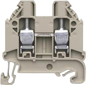 58.504.0055.0, TERMINAL BLOCK, DIN, 2 POSITION, 26-10AWG