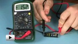 Смотреть видео: Проведение измерений с помощью мультиметра