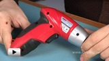 Watch video: Miniature screwdriver: Application