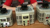 Watch video: Laboratory autotransformers