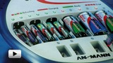 Watch video: ANSMANN ENERGY battery charges