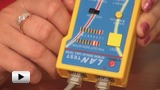 Watch video: CT-NT009 cable tester