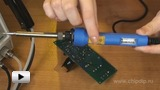 Watch video: CT-97NPD electric temperature control soldering irons