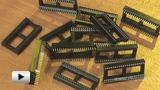 Смотреть видео: DIP 1.778 мм панельки для микросхем