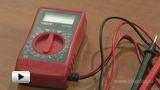 Watch video: Digital multimeter UT-20B