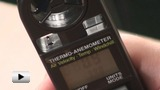 Смотреть видео: Термоанемометр 8908, измеритель скорости и температуры воздушного потока