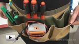 Watch video: Waist tool bag