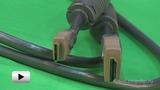 Смотреть видео: Кабель HDMI А вилка - HDMI С (мини) вилка