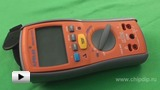 Watch video: APPA 605 insulation-resistance meter