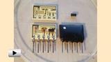 Смотреть видео: Пленочные резисторы на гибридной микросхеме