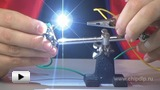 Watch video: Electric arc