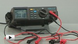 Watch video: APPA-205 Digital Multimeter