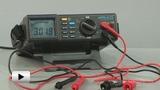 Смотреть видео: APPA-205 мультиметр цифровой
