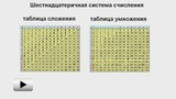 Смотреть видео: Шестнадцатеричная система счисления