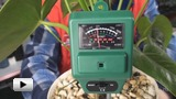 Watch video: ETP-301 Soil Humidity, Acidity and Illumination Measuring Probe