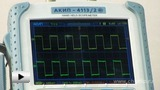 Watch video: Portable Digital Oscilloscope AKIP 4113 2