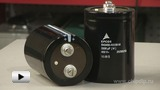 Watch video: Increased-Power Capacitors of В43456 Series by Epcos