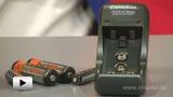 Смотреть видео: Зарядное устройство Camelion BC-1001А