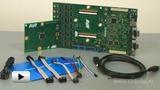 Смотреть видео: ATSTK600, многофункциональный отладочный комплект