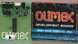 Watch video: PIC-P28-20MHZ Development Board