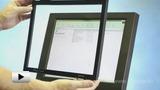 Смотреть видео: Инфракрасные сенсорные экраны