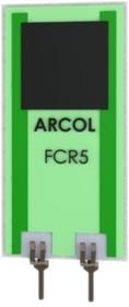 FCR5 10K J, FCR 5W PLANAR RESISTOR 5%