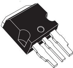 STPS15M80CR, Diode Schottky 80V 15A 3-Pin(3+Tab) I2PAK Tube