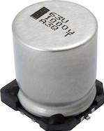 Фото 1/3 MAL214699501E3, Cap Aluminum Lytic 330uF 16V 20% (10 X 10mm) SMD 750mA 1500h 125°C Automotive T/R