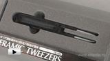 Watch video: Goot TS-100 Ceramic Tweezers