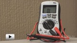 Watch video: Digital Multimeter DVM1500