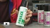 Смотреть видео: Замораживающее средство Freeze 75