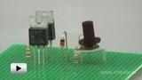 Watch video: Compensational voltage stabilizer. Working principle