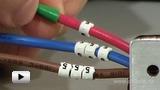 Смотреть видео: Клипсы для маркировки кабеля и провода