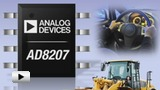 Watch video: AD8207 Amplifier