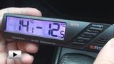 Смотреть видео: 02178 Цифровой автомобильный термометр